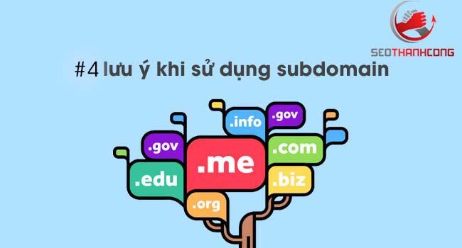 Cách tạo subdomain & những lưu ý khi sử dụng