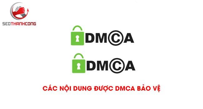 Các nội dung được DMCA bảo vệ