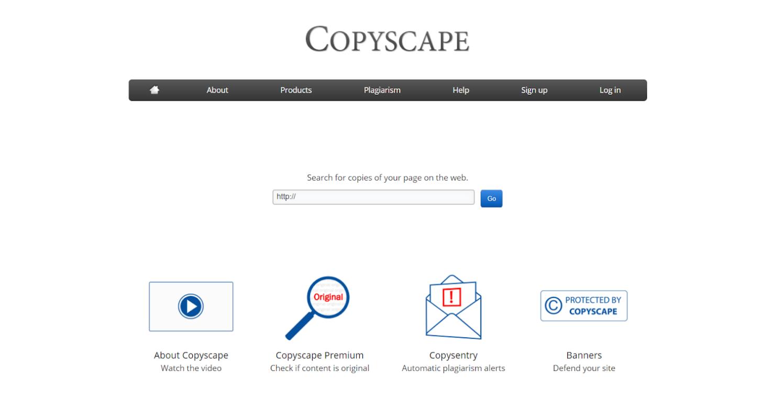 Copyscape - Công cụ kiểm tra trùng lặp nội dung
