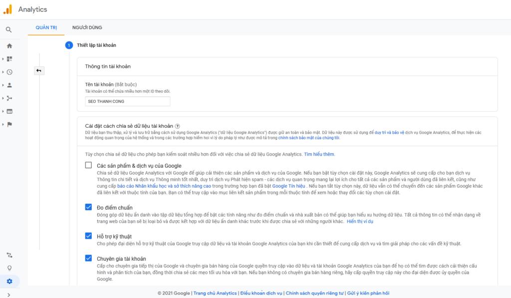Hướng dẫn sử dụng Google Analytics phiên bản cũ