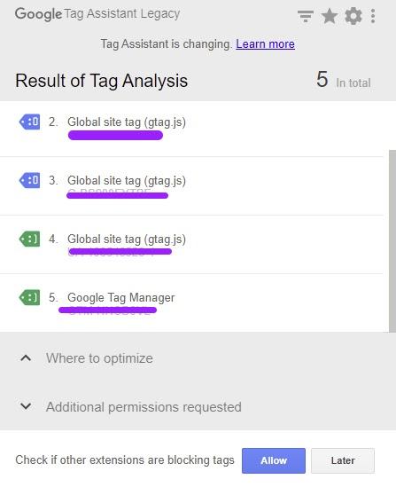 Kiểm tra Google Tag Assistant xem đã hoạt động hay chưa?