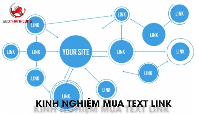 Kinh nghiệm mua textlink là gì?