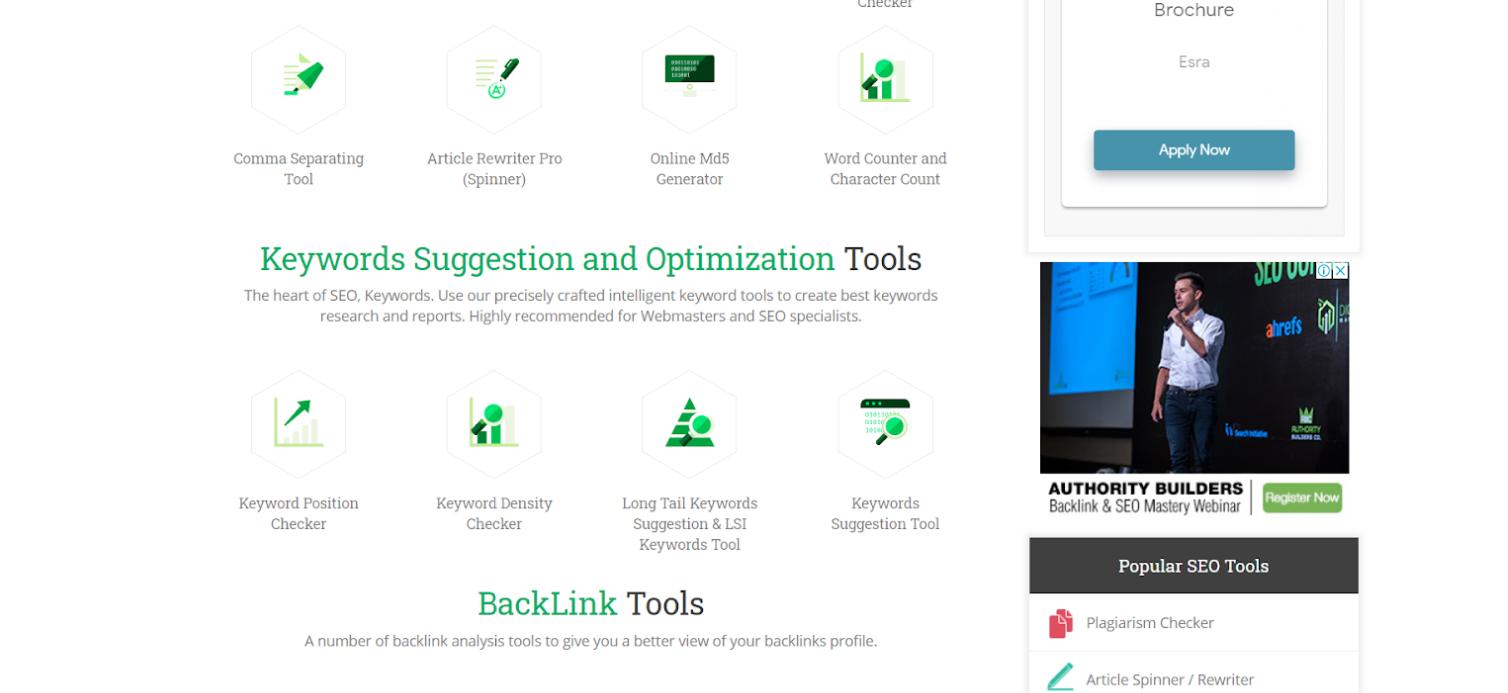 Small Seo Tools - Công cụ check bài chuẩn SEO