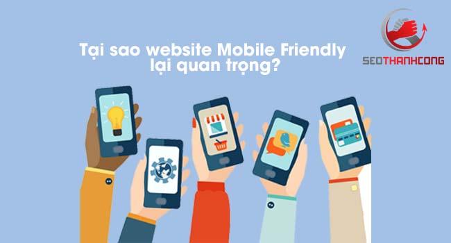 Tầm quan trọng của website Mobile Friendly là gì?