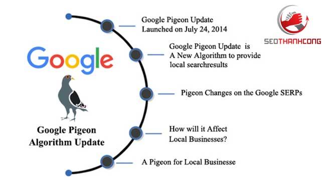 Thuật toán Google Pigeon là gì & được ra mắt khi nào?