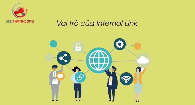 Vai trò của Internal Link
